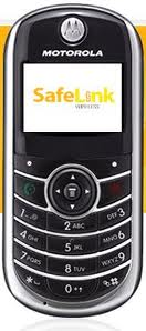 Safelink cell phone from the Lifeline and Link-up free cell phone government program